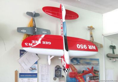 The new F2B model Gee Bee R3 of Yuriy Yatsenko