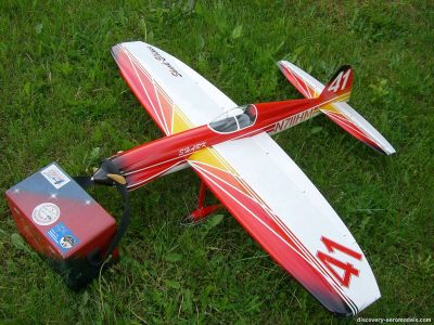 Shark Ellipse control line F2B aerobatic model of Andrey Yatsenko
